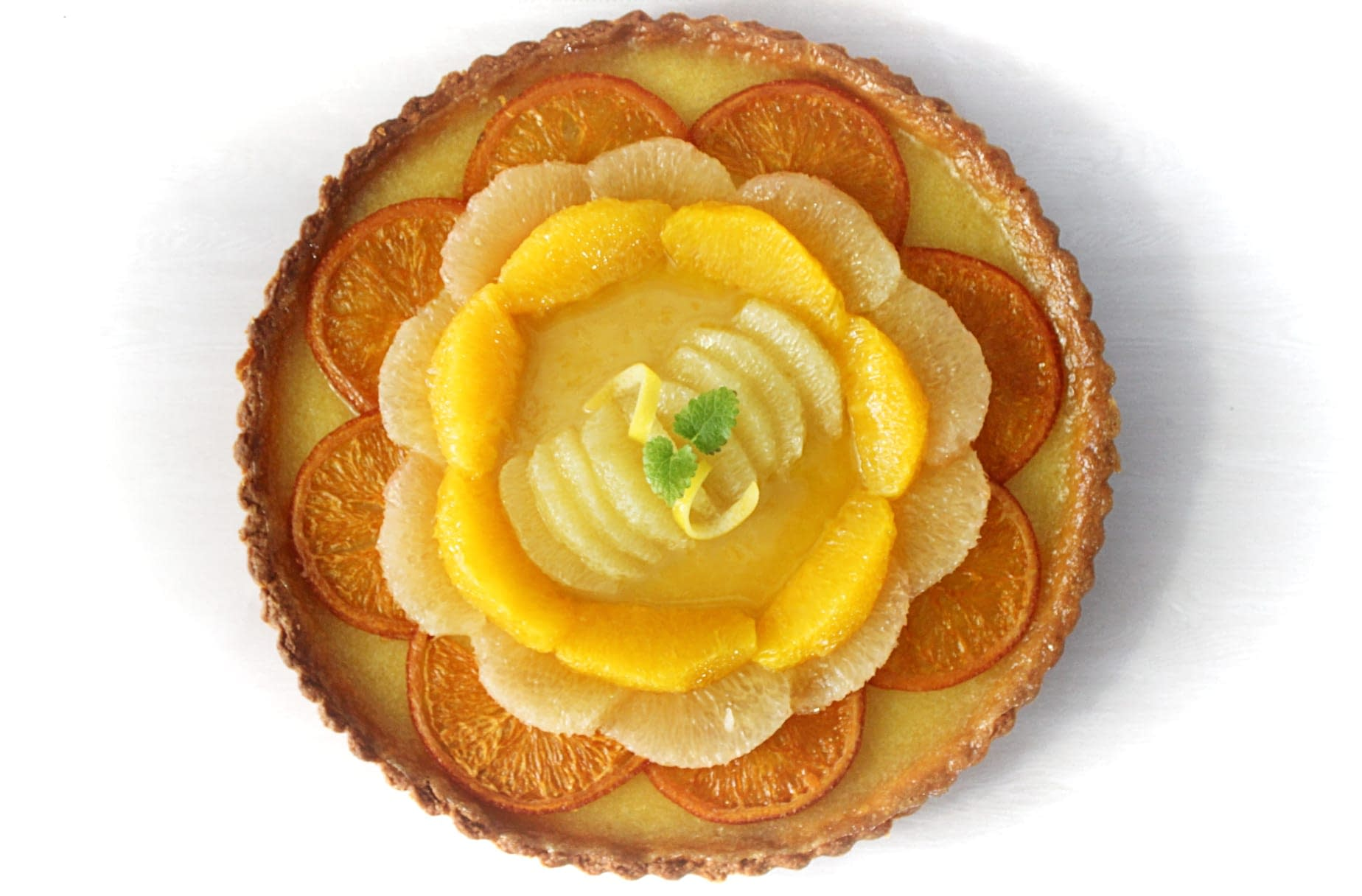Citrus Olive Oil Tart