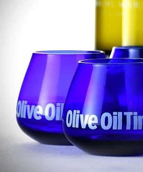 Olive oil tasting glasses