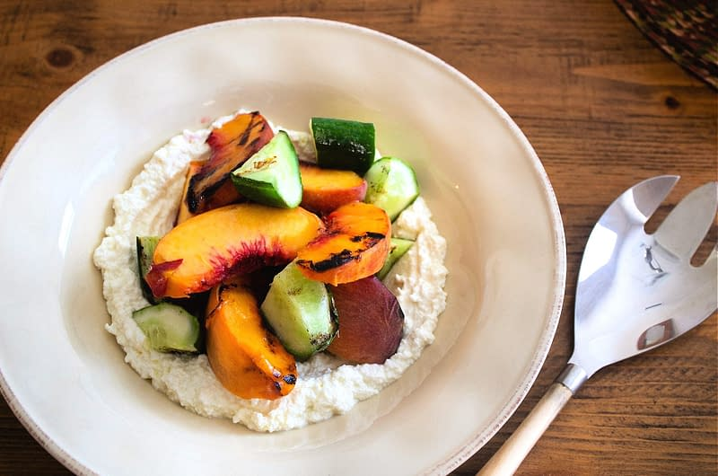 grilled-peaches-and-cucumbers-with-ricotta-olive-oil-times-grilled-peaches-and-cucumbers-with-ricotta-