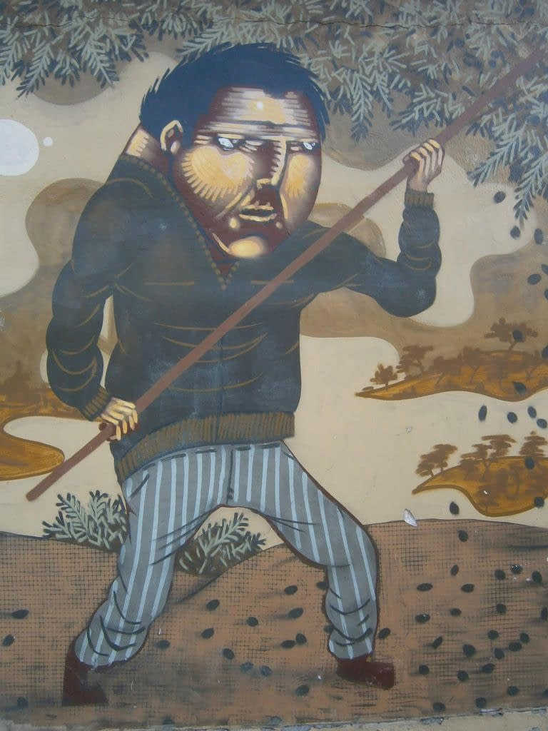 world-greek-painter-dedicates-athens-mural-to-the-history-of-olive-oil-production-olive-oil-times