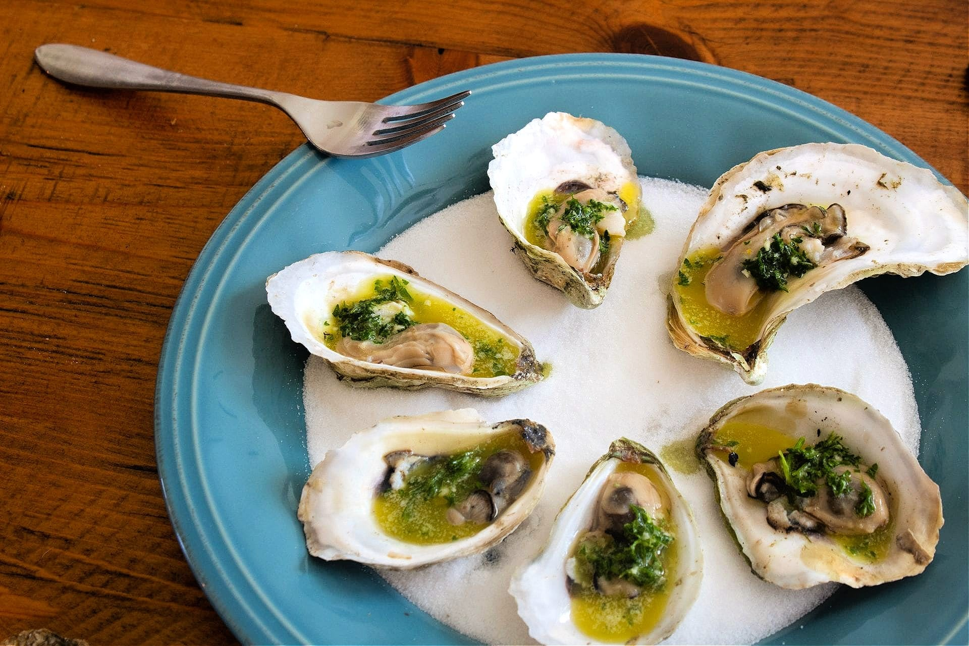 Grilled Oysters with Citrus and Olive Oil Gremolata