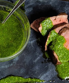 Cilantro Chimichurri with Extra Virgin Olive Oil