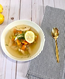 Greek Chicken Soup