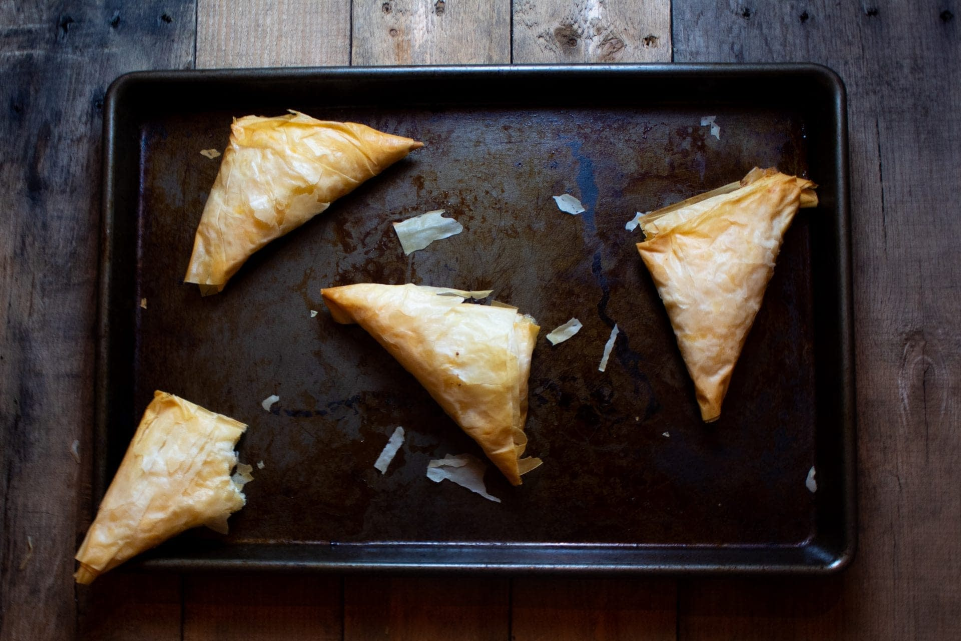 Feta and Phyllo Cheese Pies