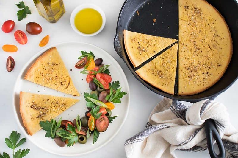 socca-chickpea-flatbread-with-tomato-olive-salad-olive-oil-times-socca-chickpea-flatbread-with-tomato-olive-salad-