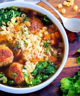 Rustic Italian Wedding Soup