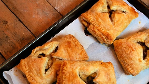 Apple and Date Turnovers