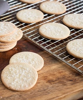 Olive Oil Sablé Cookies