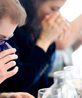 Oleologist and NYIOOC taste panel member Nicholas Coleman