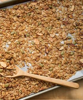 Italian-Style Pine Nut & Olive Oil Granola