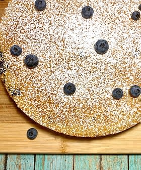 Blueberry Olive Oil Cake