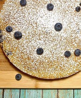 Blueberry Olive Oil Cake