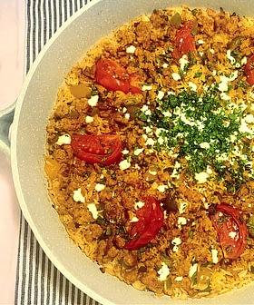 One Pot Spanish Chorizo and Rice